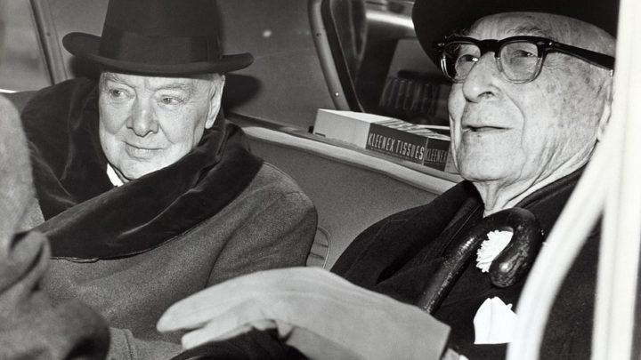 Знаменитая беседа супруги Черчилля с дворником