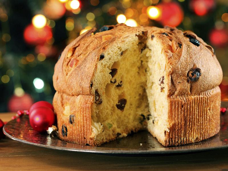 Итальянский кекс для Рождества