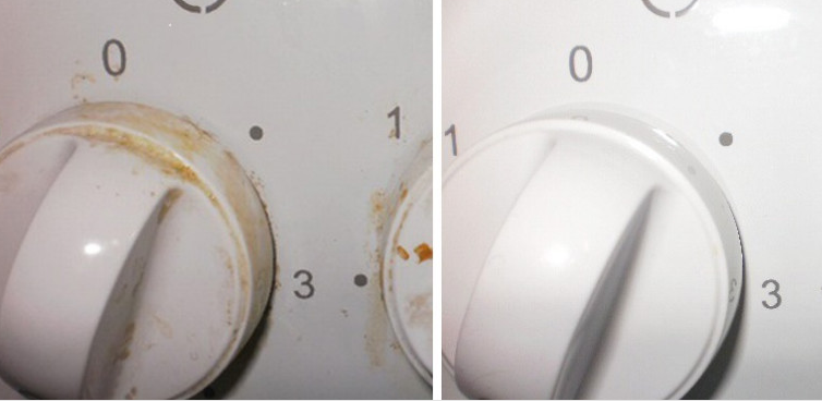 Как легко и быстро отмыть ручки плиты