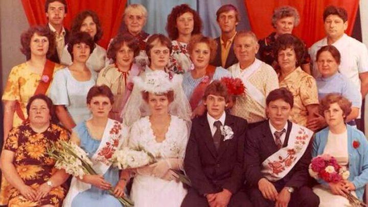 Свадебная мода в союзе