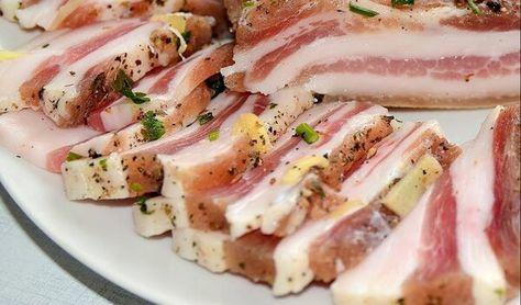 Вкуснейший домашний деликатеc! «Рецепт сала горячего посола «