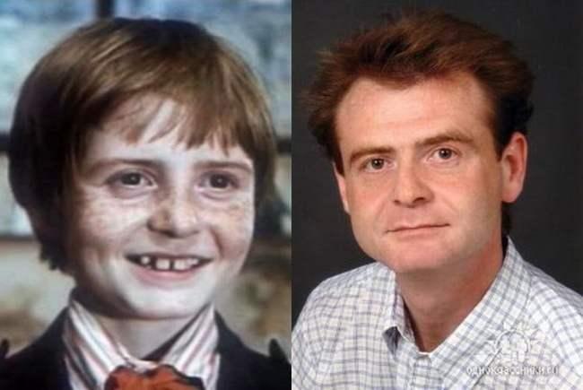 Любимые актеры из нашего детства сегодня.