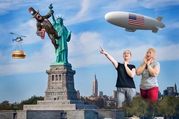 Поездка моей подруги в США удивила