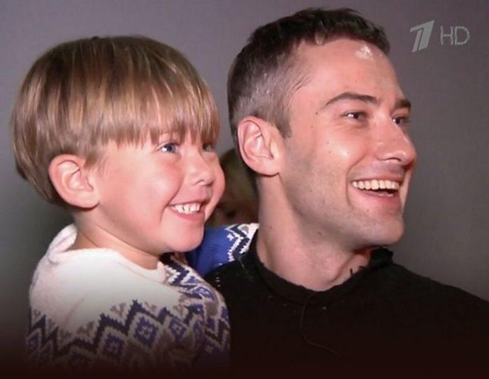 Шепелев впервые показал 7-летнего сына Жанны Фриске