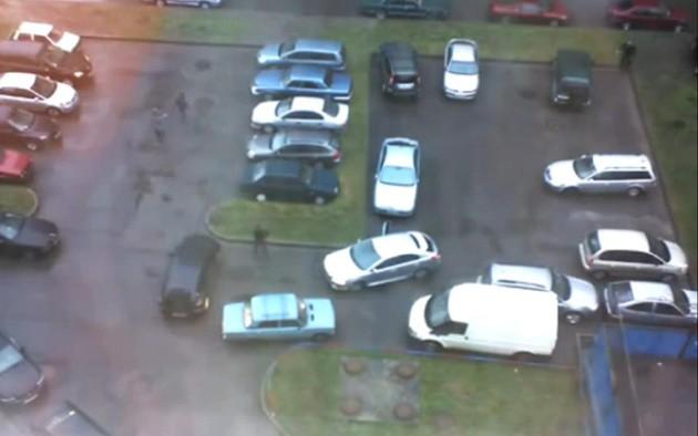 Уникальная ситуация на парковке