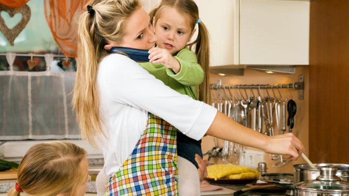 Как все успевать, работая дома, если есть дети