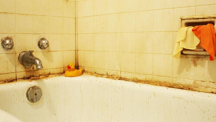 Как отмыть грязную ванну