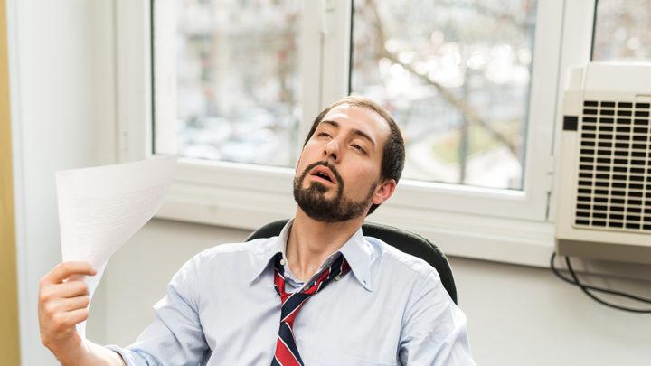 Как справиться с жарой на рабочем месте